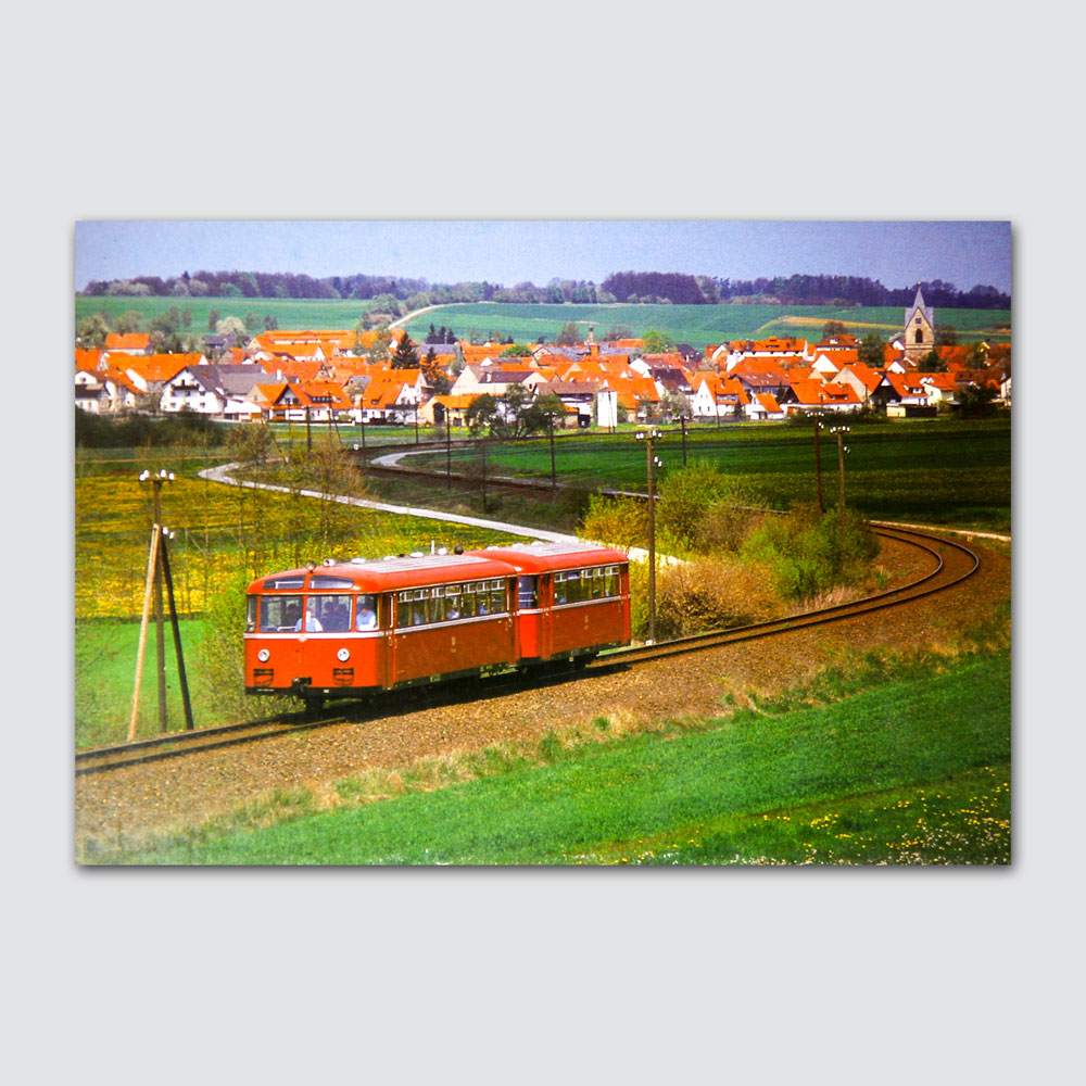 Lokalbahn Breitengüßbach - Maroldsweisach Rückseite