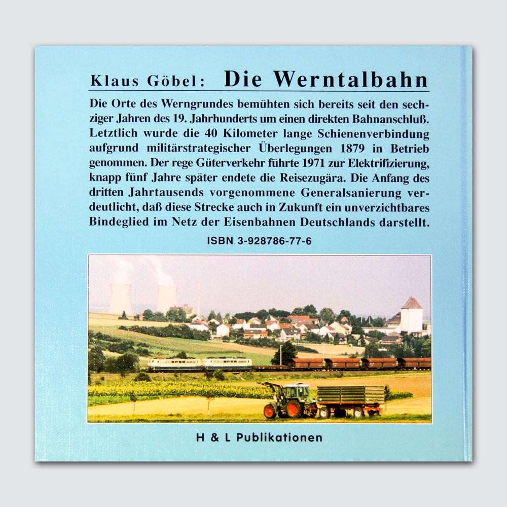 Die Werntalbahn Rückseite