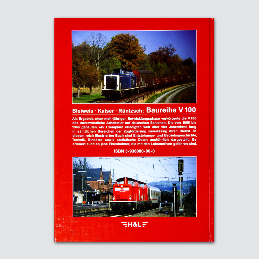 Baureihe V 100 Bundesbahn Rückseite