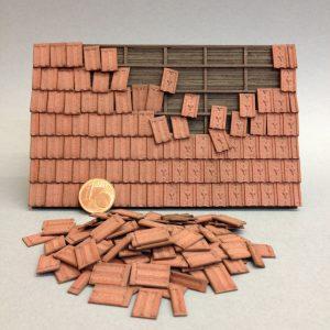 Dachziegel für den Modellbau