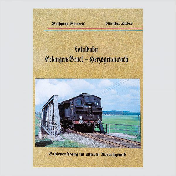 Lokalbahn Eerlangen-Bruck - Herzogenaurach Broschüre