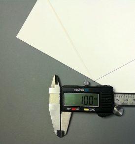 Modellbau-Karton in hochwertiger Qualität, Format DIN A4, 1 mm Stärke