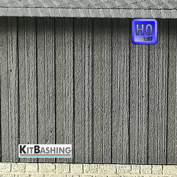 Holzwand Schalungen und Vertäfelungen für Modellbau Fassaden Boden-Deckel Schalung Spur H0 1zu87