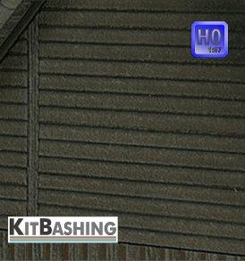 Stülp-Schalung für Modellgebäude im Maßstab 1:87 Spur H0