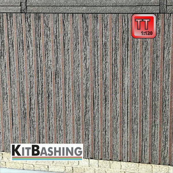 Leisten-Schalung in Spur TT