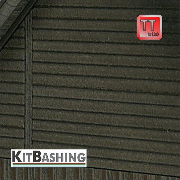 Stülp-Schalung für Modellgebäude im Maßstab 1:120 Spur TT
