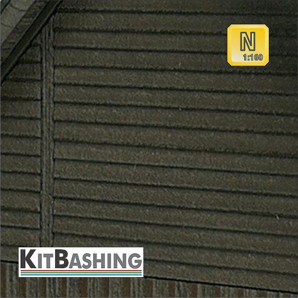 Stülp-Schalung für Modellgebäude im Maßstab 1:160 Spur N