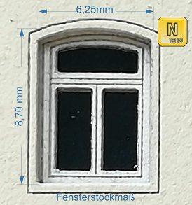 Bogenfenster-Set Typ 1 Für Spur N von Kreativ3.De