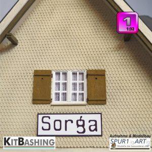 Hirschzungen-Schindeln für Fassaden in Spur1