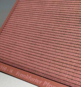 Bastelplatte mit Dachziegelstruktur Frankfurter Pfanne als Altdach Spur N