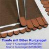 Zusatzprodukt Biber Kurzziegel als Ergänzung der Trauf-Eindeckung