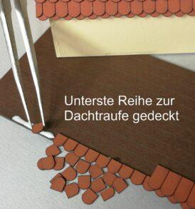 Dachtraufe mit Kurzziegel