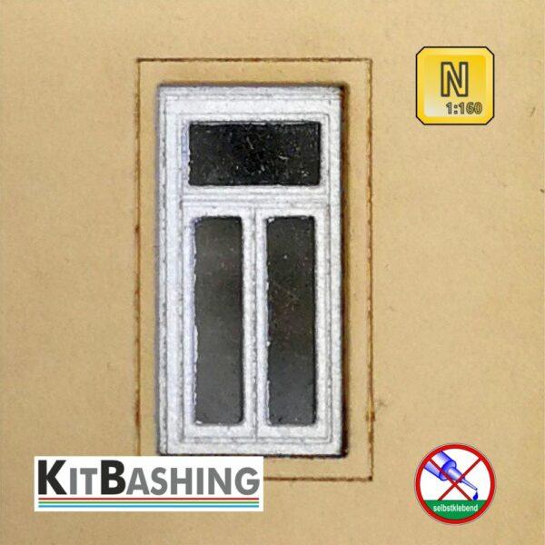 Flügelfenster Set B1 KitBashing-Bausatz in Spur N