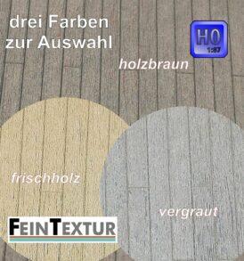Holzdielen Boden Bastelplatte für Spur H0