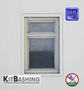 Flügelfenster für Modellbau H0 Set D3
