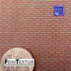 Läuferverband Backstein Ziegelmauer für Modellbau
