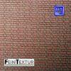 Mauerziegel Bastelplatte für Baugröße H0 aus farbigem Lasercut