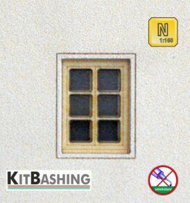 Modell-Fensterbausätze für Spur N von Kreativ3.De