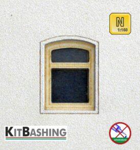 Modellbau-Bogenfenster für Spur N Bogenfenster Set A3
