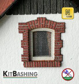 Fenster und Türgewände A1 Mauerziegel Spur N