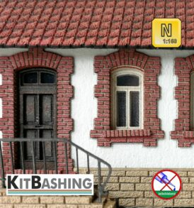 Fenster- und Türgewände Maierziegel B1 Spur N