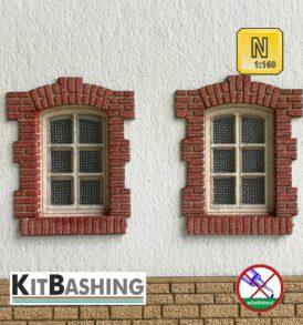 Fenster- und Türgewände D1 Mauerziegel Spur N
